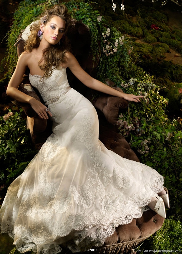 lazaro spring 2010 bridal collection wedding inspirasi Lazaro Wedding Dresses s