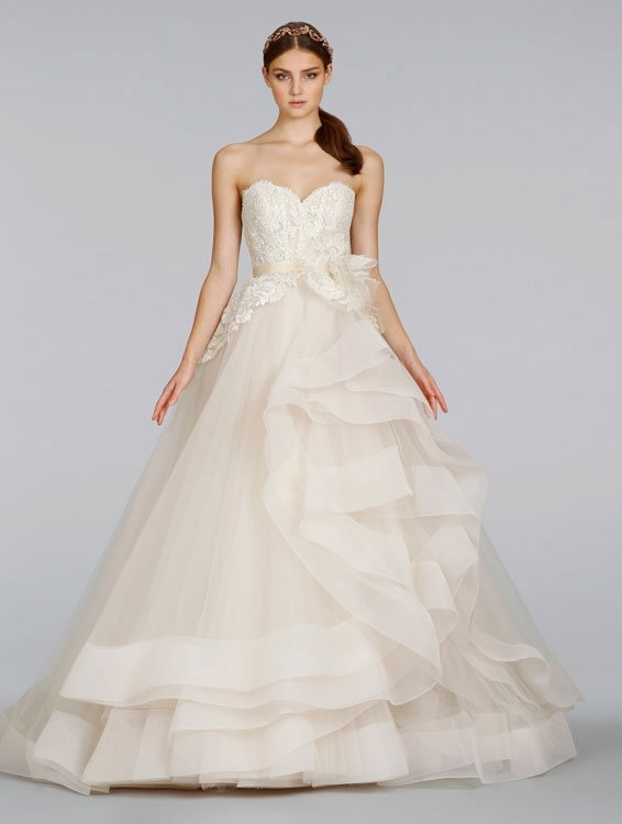 lazaro wedding dresses in glendale lovella bridal Lazaro Wedding Dresses s
