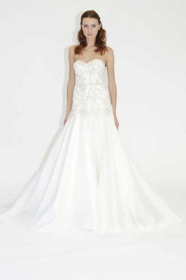 lela rose ivory silk the peninsula traditional wedding dress size 4 s 77 off retail Lela Rose Wedding Dress s