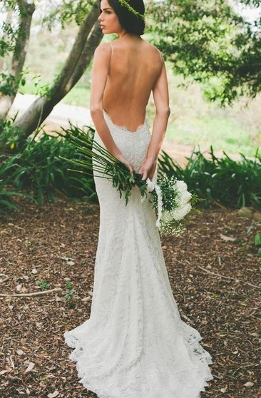 low back backless wedding dress june bridals Wedding Dresses With Low Backs