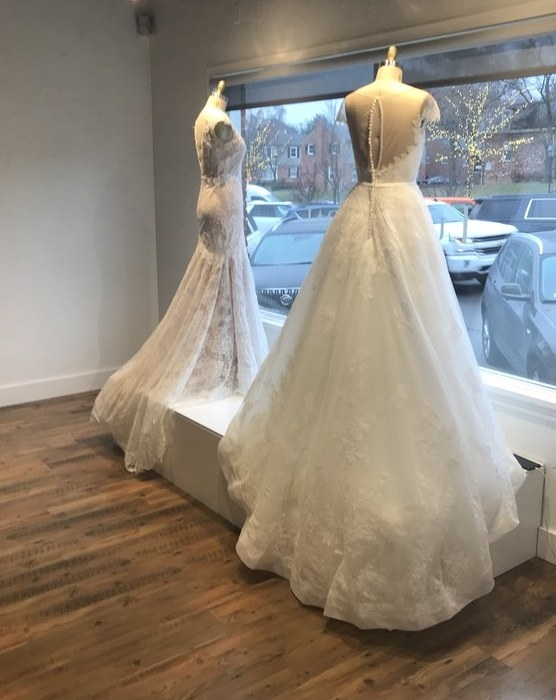 luxe bridal rack opens new luxury bridal salon near detroit Pretty Wedding Dresses In Michigan
