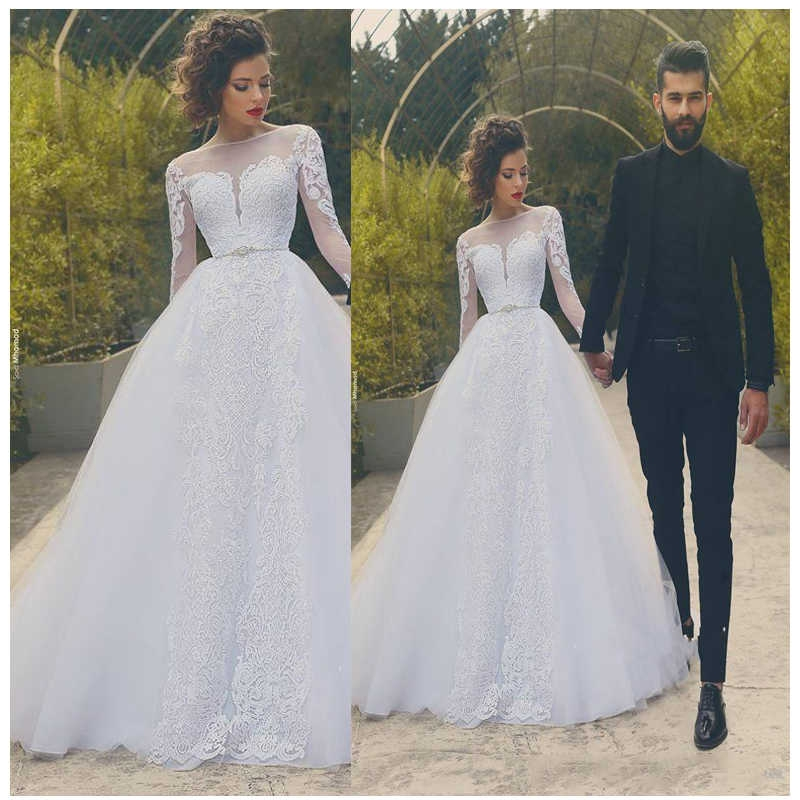 luxury african wedding dresses ball lace appliques classical wedding dress bridal gowns 2019 elegant informal bride dress Aliexpress Wedding Dress