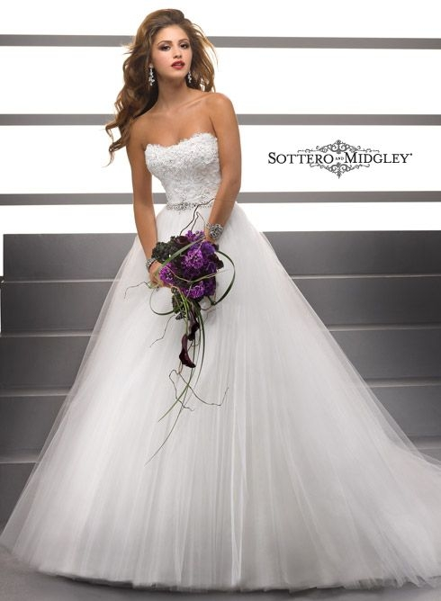 maggie sottero wedding dresses maggie sottero sottero Terry Prettya Wedding Dresses