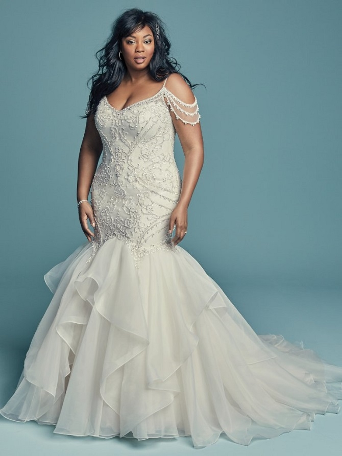 maggie sotteros spectacular plus size wedding dresses Pretty Wedding Dresses Charlotte Nc