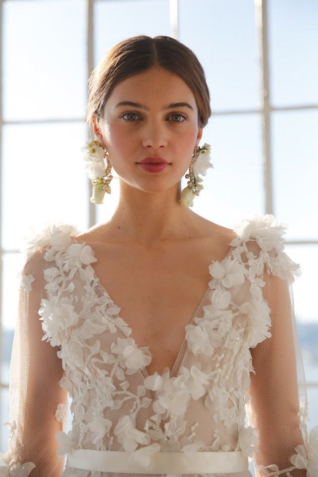 marchesa wedding dress collection ss 2017 bridal makeup Marchesa Wedding Dress s