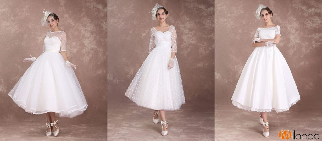 milanoo 2018 vintage wedding dresses new arrivals Milanoo Wedding Dress