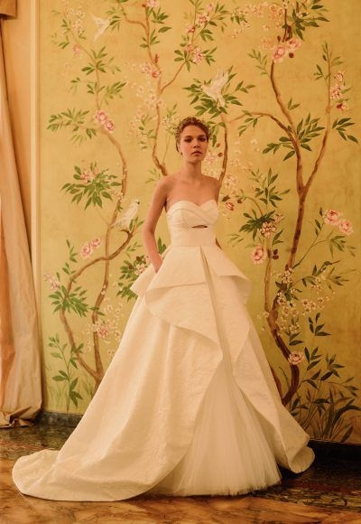 modern ball gown wedding dress giovanni clemente Giovanni Wedding Dresses