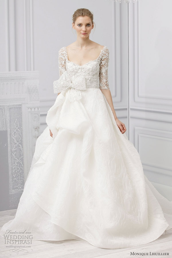 monique lhuillier bridal spring 2013 wedding dresses Monique Lhuillier Wedding Dress Pretty