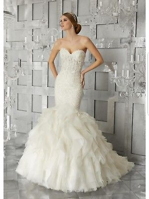 morilee bridal madeline gardner 8177 ivory wedding gown ebay Madeline Gardner Wedding Dress