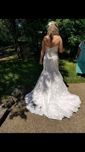 new and used wedding dress for sale in rogers ar offerup Wedding Dresses Fayetteville Ar