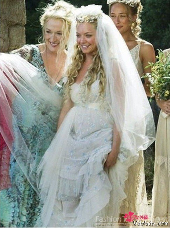 old world wedding greek goddess gown love the dress and Mamma Mia Wedding Dress