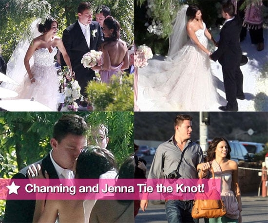 photos of channing tatum and jenna dewans wedding Jenna Dewan Wedding Dress