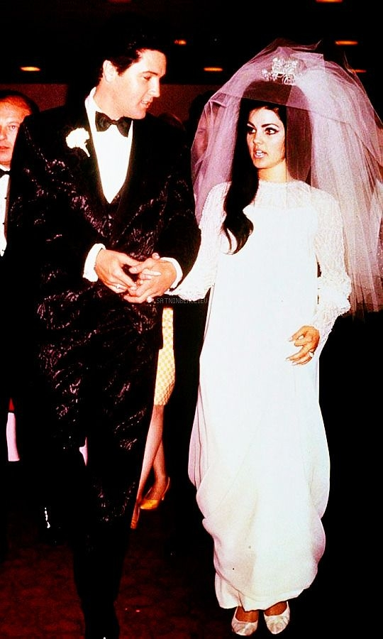 pin jo cos on first board in 2019 elvis presley Priscilla Presley Wedding Dress