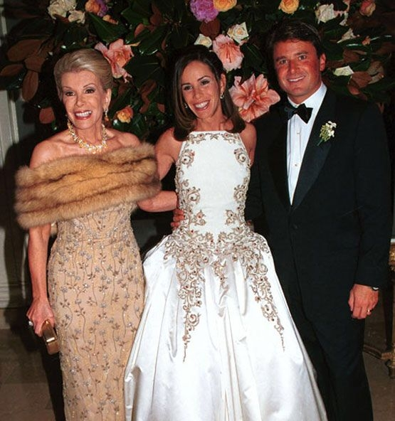 pin on celeb weddings Melissa Rivers Wedding Dress