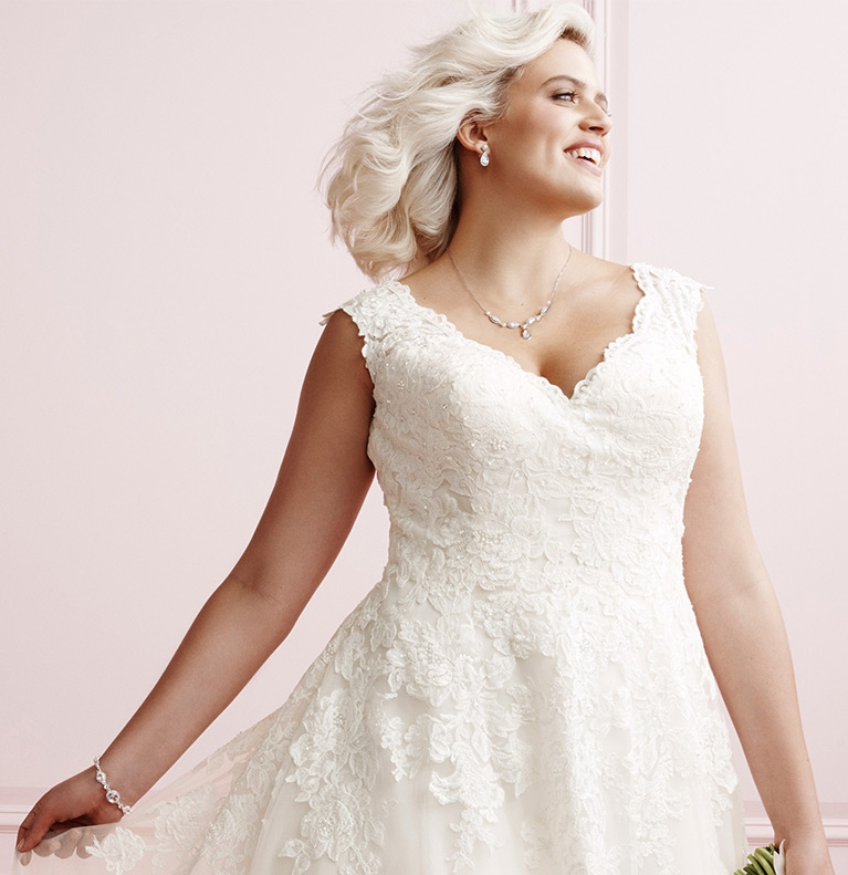 plus size wedding dress guide davids bridal Davids Bridal Pretty Wedding Dresses
