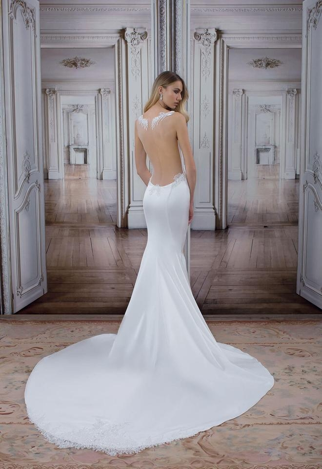 pnina tornai offwhite 2017 love collection sexy wedding dress size 4 s Pnina Tornai Wedding Dress s