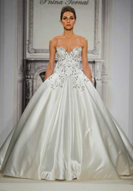 pnina tornai size 6 Pnina Wedding Dress