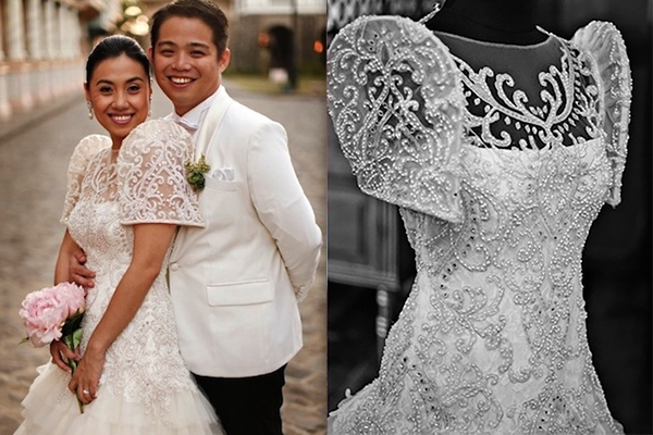 pretty filipiniana wedding gowns philippines wedding blog Traditional Filipino Wedding Dress
