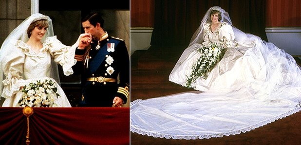 princess diana had a second secret wedding dress for her Dianas Wedding Dress