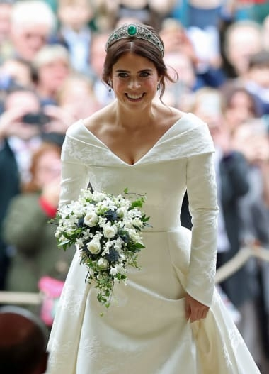 princess eugenie makes bold statement with wedding dress Eugenia Wedding Dress