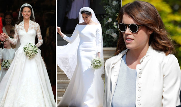 princess eugenie wedding princess revealed this about her Eugenia Wedding Dress