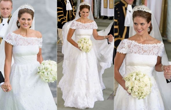 princess madeleine wedding dress look a likes Princess Madeleine Wedding Dress