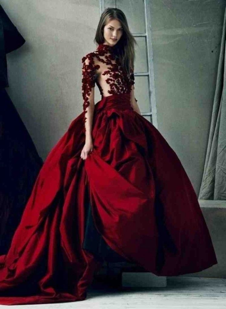 red wedding dresses kleinfeld red wedding dresses Red Wedding Dresses Kleinfeld