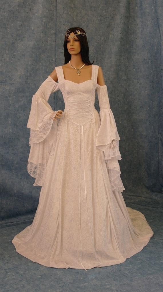 renaissance medieval handfasting wedding dress custom made Handfasting Wedding Dresses