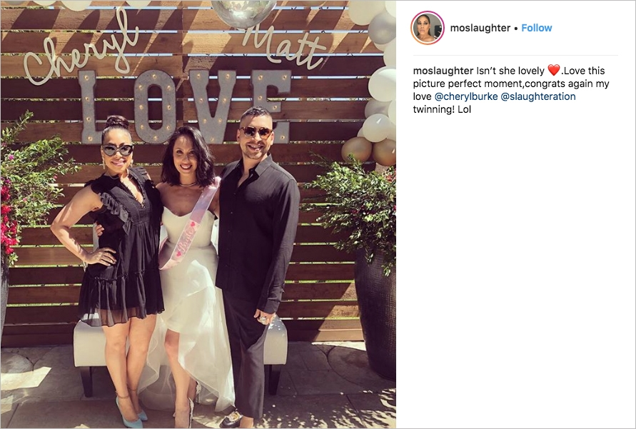see details from cheryl burkes bridal shower inside weddings Leah Remini Wedding Dress