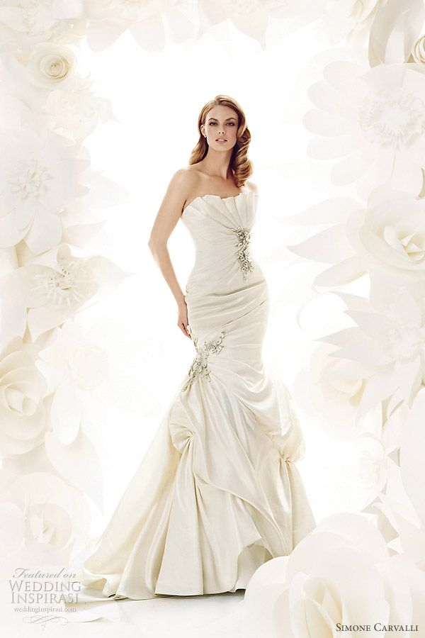 simone carvalli wedding dresses a vision in white 4 in Simone Carvalli Wedding Dresses