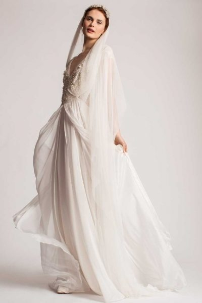 simple a line wedding dress Temperley London Wedding Dress