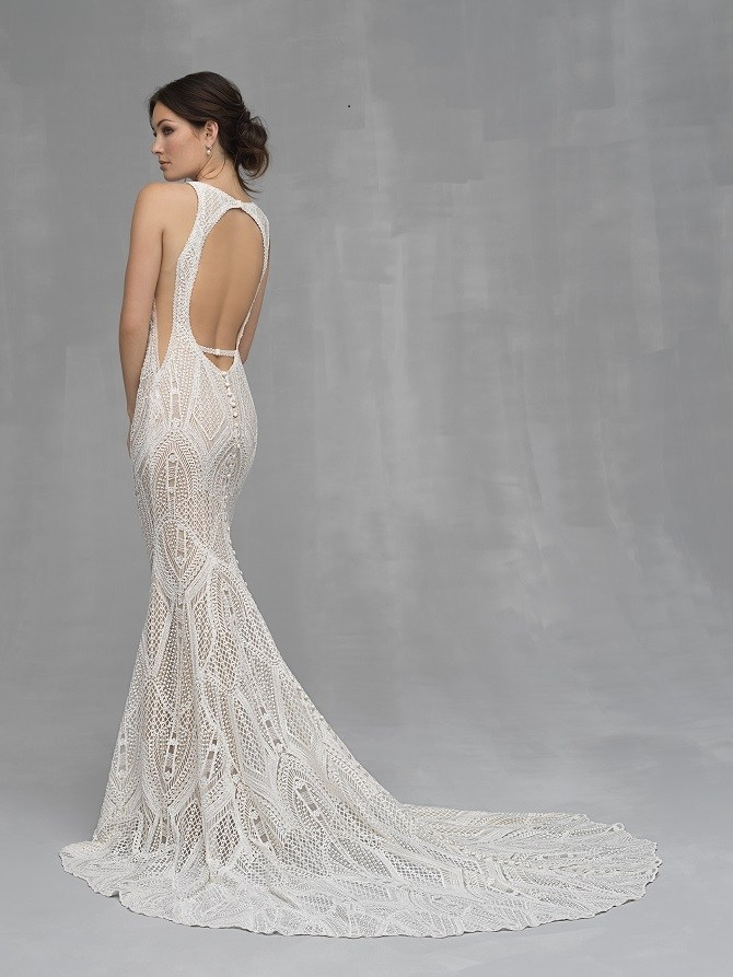 sophisticated sheath wedding gowns at nybg charlotte Pretty Wedding Dresses Charlotte Nc