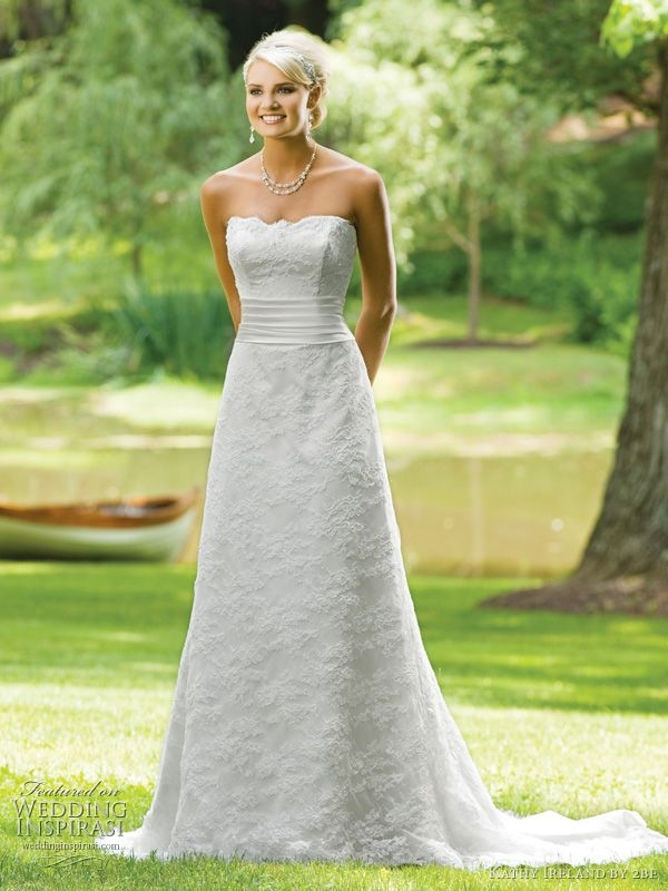 spring 2011 wedding dresses from kathy ireland 2be Kathy Ireland Wedding Dresses