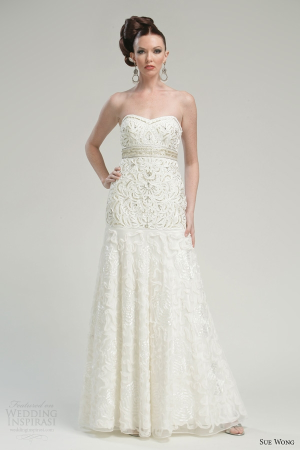 sue wong bridal collection wedding inspirasi Sue Wong Wedding Dresses