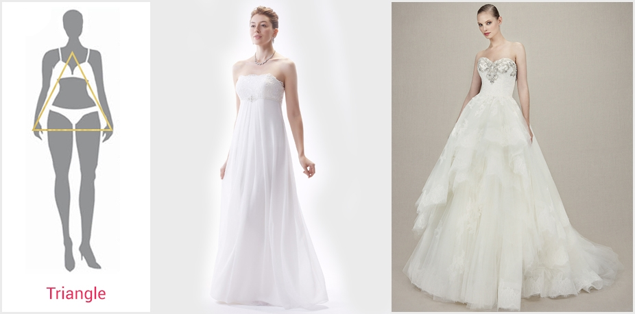 the best wedding dress for your body type bridalpulse Wedding Dresses For Broad Shoulders
