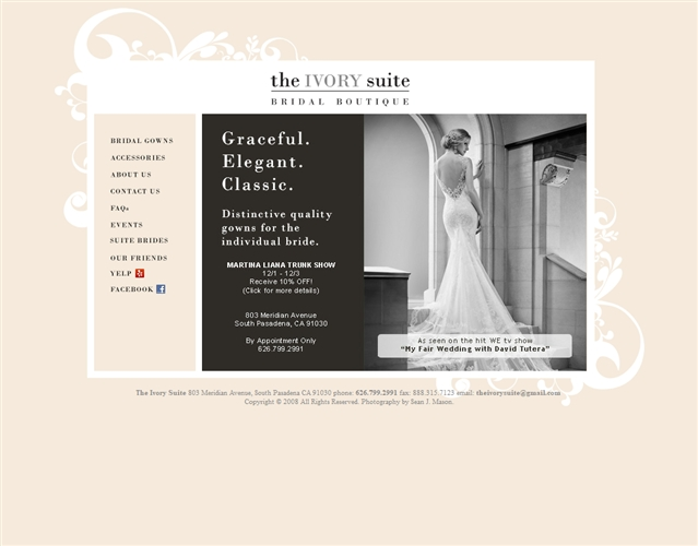 the ivory suite pasadena wedding dresses and accessories Wedding Dresses Pasadena