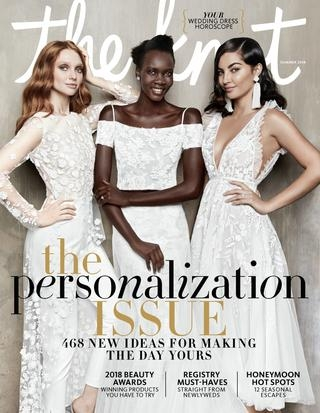the knot summer 2018 the knot issuu The Knot Lookbook Wedding Dresses