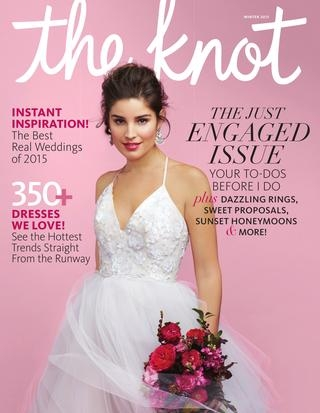 the knot winter 2015 the knot issuu The Knot Lookbook Wedding Dresses