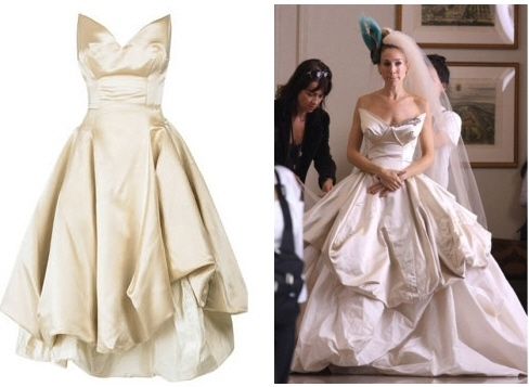the vivienne westwood wedding dress that carrie bradshaw Carrie Bradshaw Wedding Dress