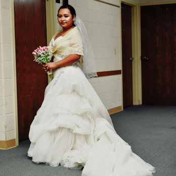 the wedding dress pronovias basilea i added the alampay Traditional Filipino Wedding Dress