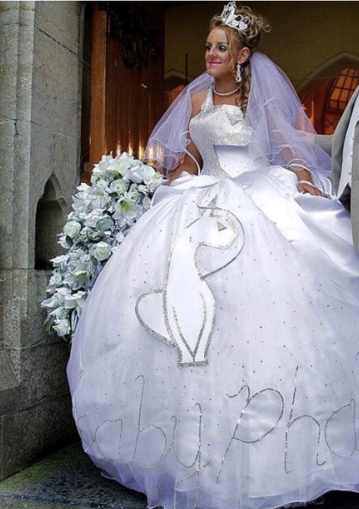 the worlds ugliest wedding dresses album on imgur Ugliest Wedding Dresses