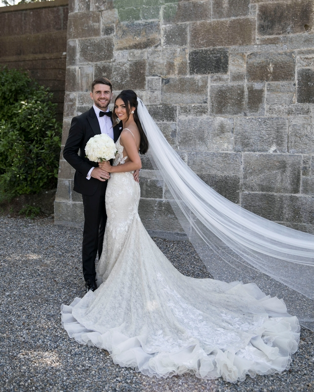 thevowies best of 2018 the most stylish irish brides of The Knot Lookbook Wedding Dresses