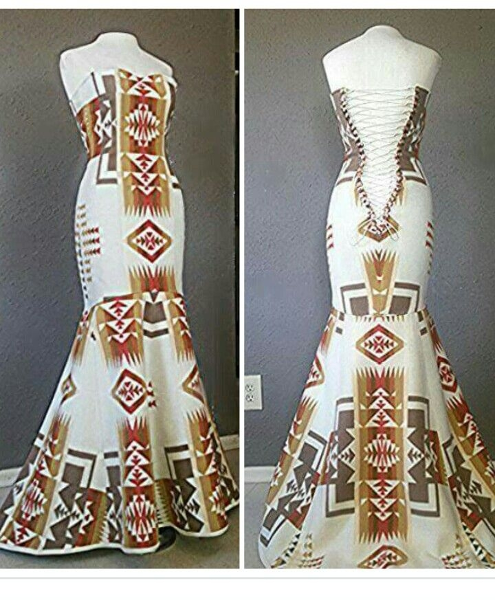 this would make a beautiful traditional wedding dress lace Navajo Wedding Dresses