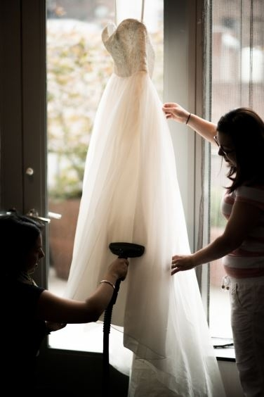 to steam or not to steam Wedding Dress Steaming