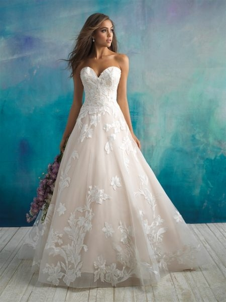 trendy ball gown wedding dress Wedding Dress Kleinfeld