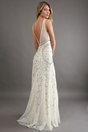 used other sue wong antique embroidered gown wedding dress Sue Wong Wedding Dresses