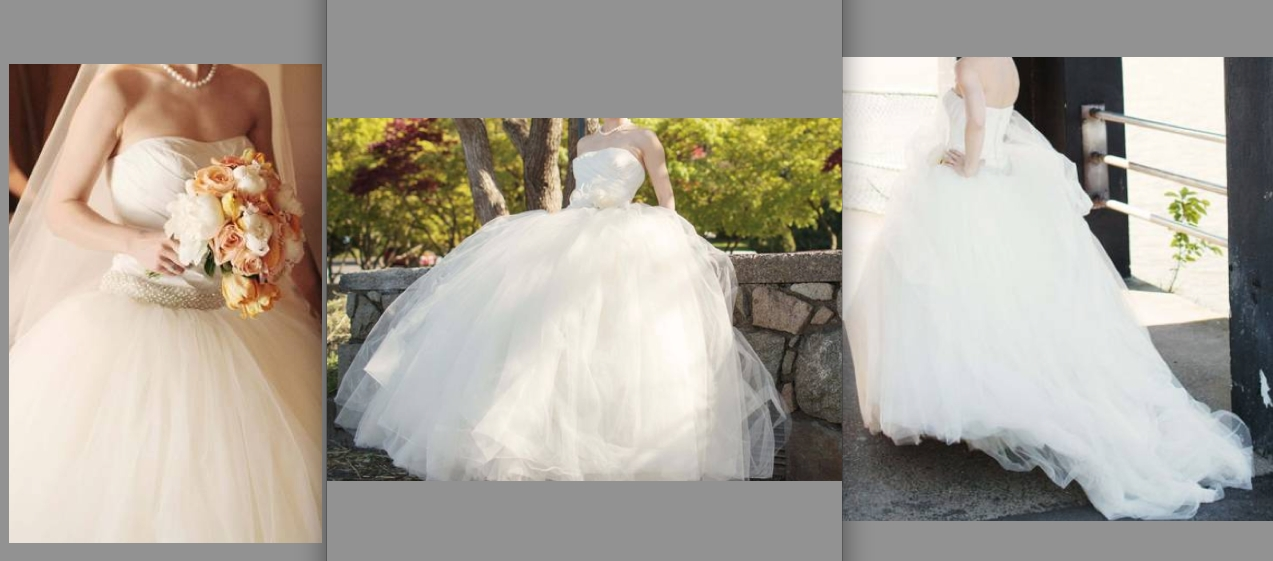 vera wang ballgown on craigslist here for only 800 she took Wedding Dresses Craigslist