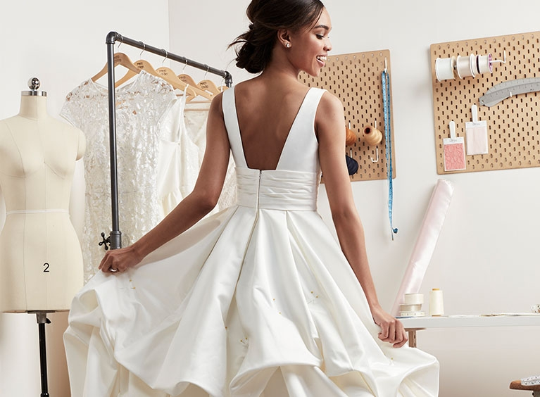 wedding dress and formal dress alterations davids bridal Wedding Dress Alterations Nyc