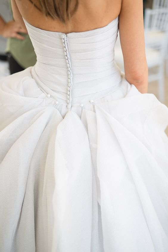 wedding dress bustles the types and tips to the perfect bustle Wedding Dress Bustles