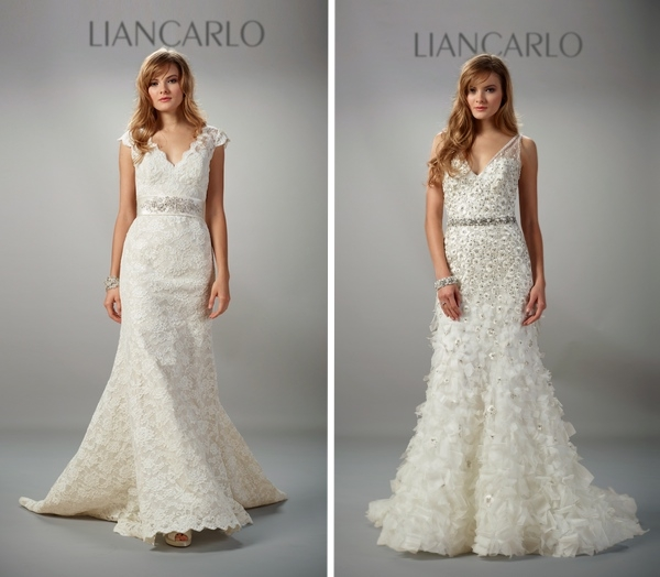 wedding dress designer of the week liancarlo Liancarlo Wedding Dresses